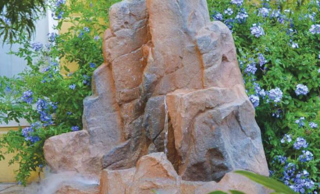 cascata monaco pietra