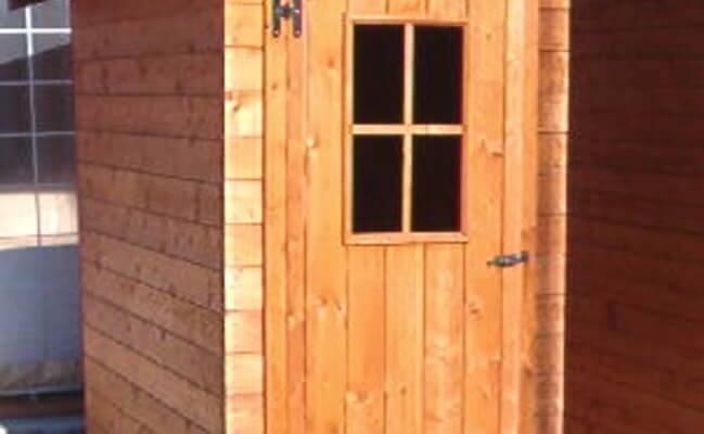 Casetta in legno Parigi
