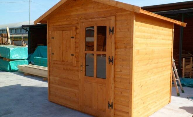 Casetta in legno Torino