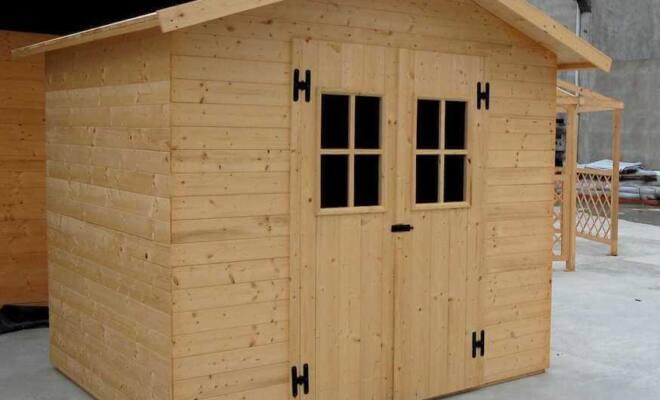 Casetta in legno Vienna