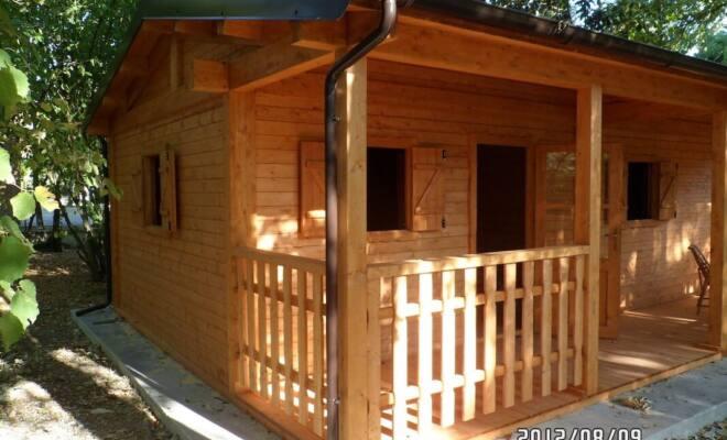 Casetta in legno Lusso