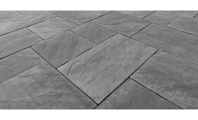 Autobloccante Skema Sandstone grigio titanio (dettaglio)